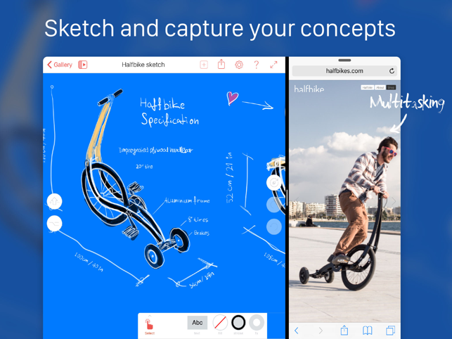 ‎ProtoSketch – Graphic Design Screenshot