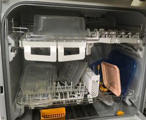 食器洗い乾燥機の実験1の直後