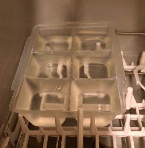 食器洗い乾燥機の実験1の乾燥後1