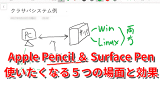 Apple Pencil/Surface Penの活用方法とは?