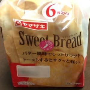 バルミューダで食パンを焼いてみた ヤマザキ スイートブレッド パッケージ