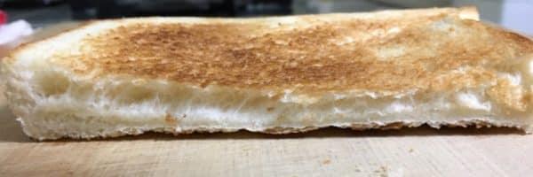 バルミューダで食パンを焼いてみた ヤマザキ ふんわり食パン 水無しの場合