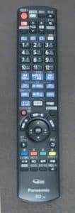 ブルーレイプレーヤー「パナソニック ディーガ DMR-BRG2030」リモコン