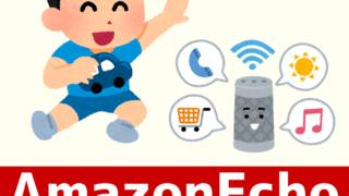 アイキャッチ:Amazon Echo for 子育て(育児)