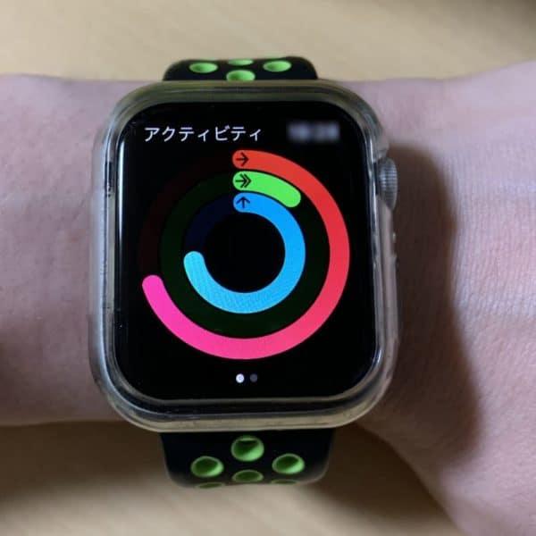 Apple Watch アクティビティの管理の一例