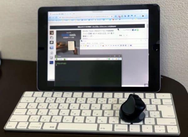 iPad ProとSmart Keyboard と Swiftpoint GT