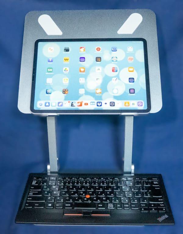 iPadとキーボードの組み合わせ