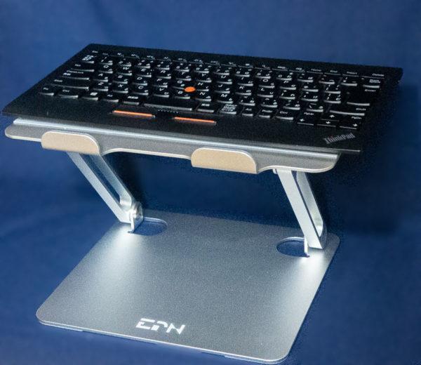 ThinkPadトラックポイントキーボードをリフトアップ