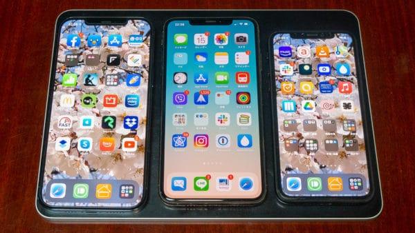iPad Pro 11 inch = iPhone 3個のサイズと覚えておきましょう。
