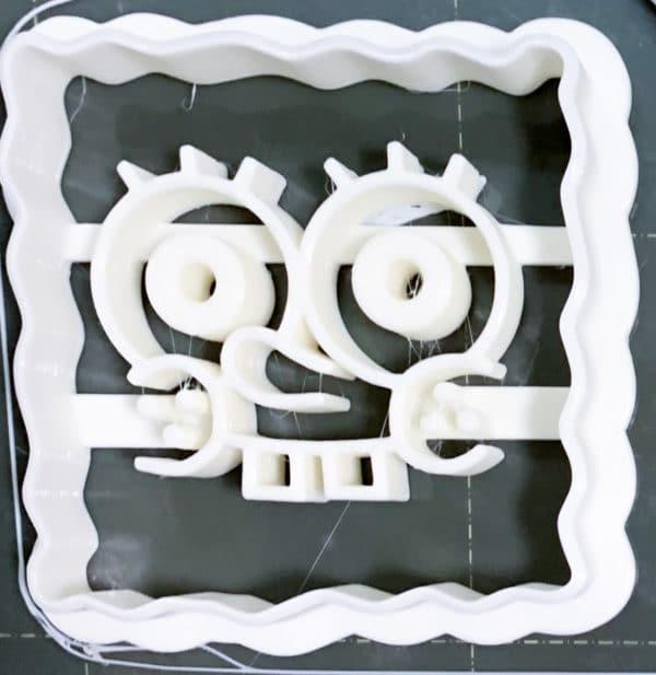 Reprapper PLAフィラメントでの印刷物:クッキーカッター