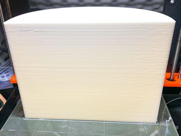 Reprapper PLAフィラメントでの印刷物:ダストボックス