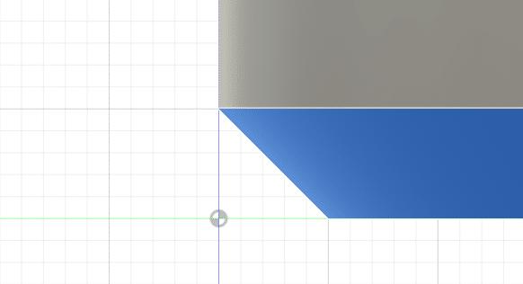底を斜めに浅く面取りしたデザインは、印刷に成功しやすいです。
