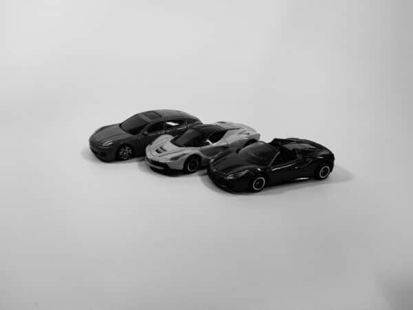ポートレートモードで「白黒」フィルタを適用して撮影してみた