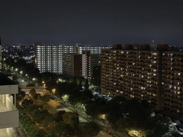 OPPO Reno5A 夜景モードx2