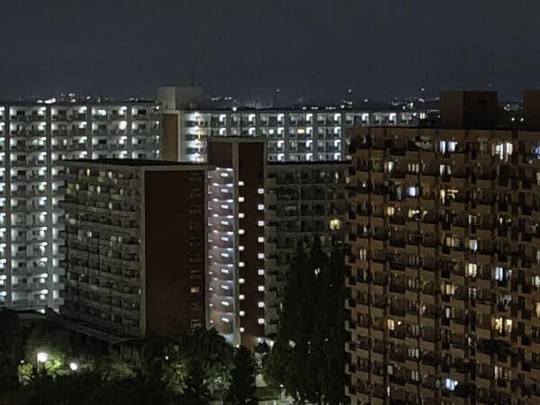 OPPO Reno5A 夜景モードx5